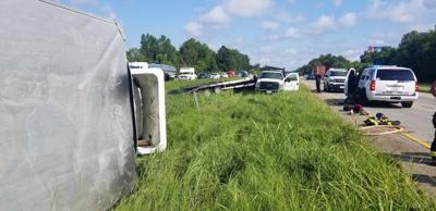 Interstate 10 West crash Aug. 13, 2019
