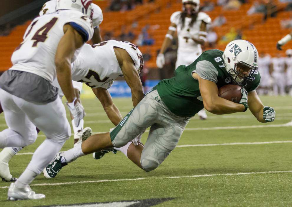 Hawaii edges ULM, snaps 8-game skid _lowres