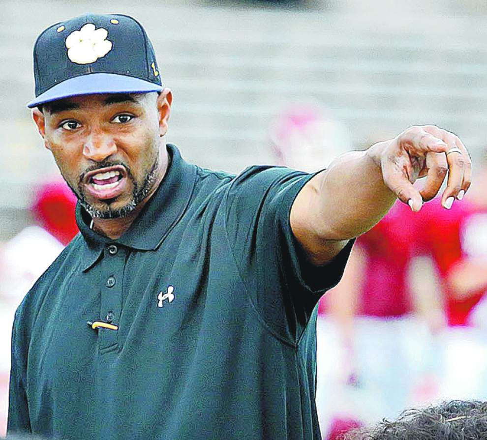 Nathaniel Jones steps down as Karr football coach; Brice Brown takes over _lowres