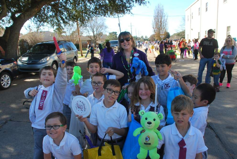 Scouts on parade at St. Ann School _lowres