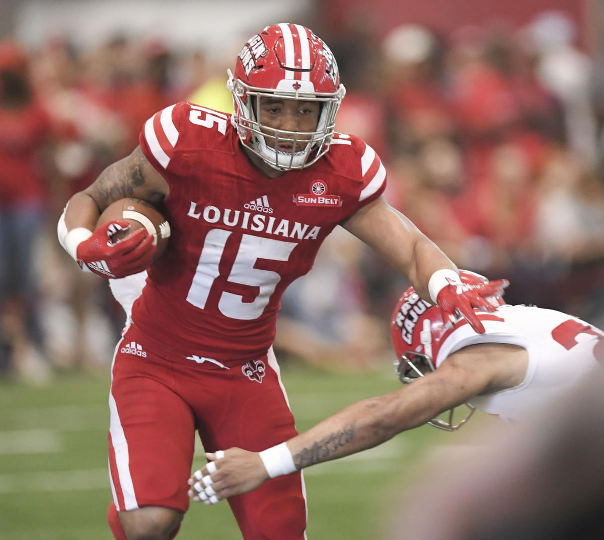 premium selection ab992 939fe Mitchell wraps up comeback on final play of Ragin' Cajuns ...