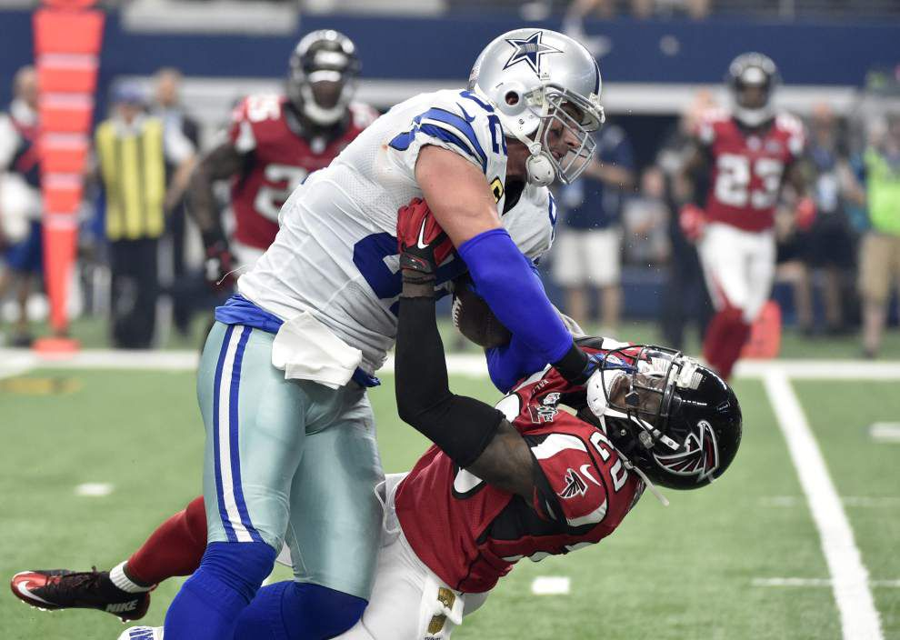 Saints confident they have fixed their tight end coverage issues for Sunday night's game against Cowboys tight end Jason Witten _lowres