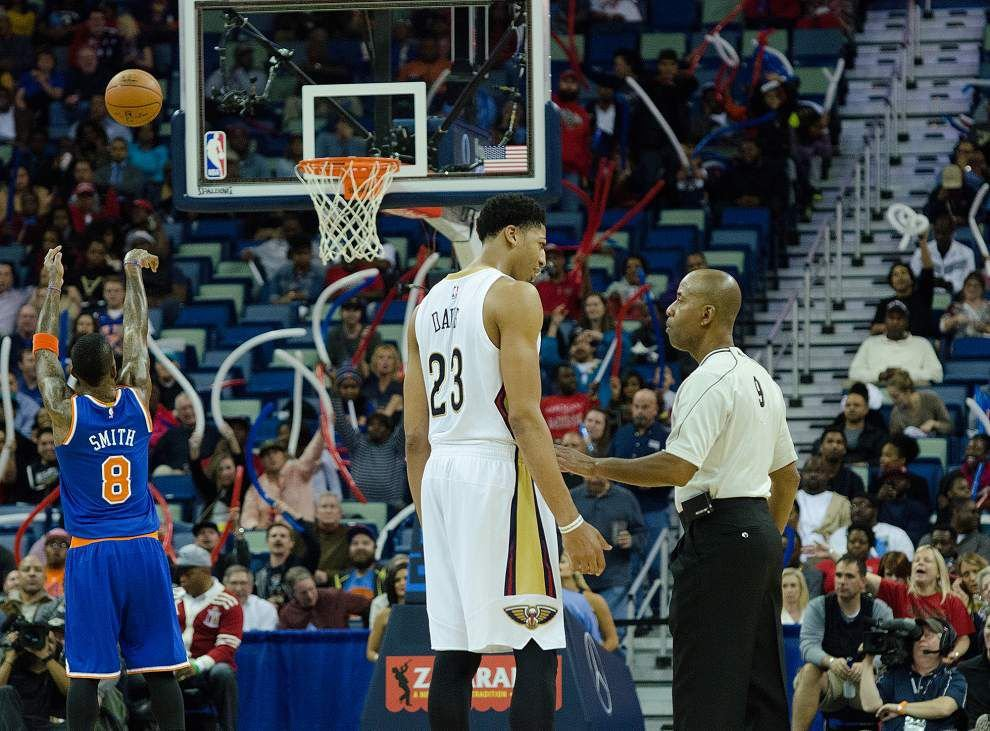 Video: Anthony Davis says the Pelicans got back to .500 like they wanted to with the win against the New York Knicks _lowres