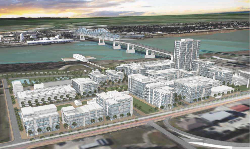 Here are renderings for 1st phase of Baton Rouge's unique Water Campus _lowres