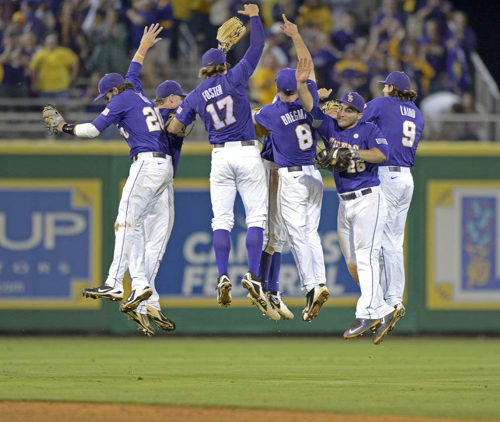 LSU slams 17 hits in 11-4 series-clinching win over Mississippi State _lowres
