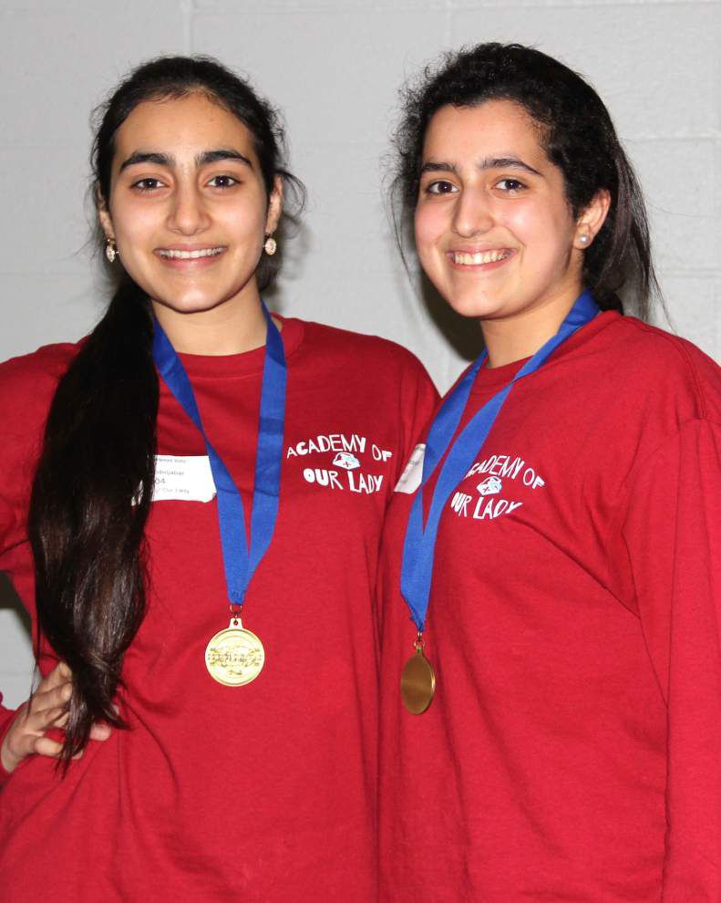 Academy of Our Lady students find success at regional Science Olympiad _lowres