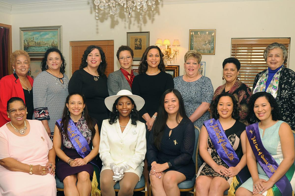 Past queens and maids of YMIC luncheon 2017