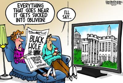 Walt Handelsman: Black Hole