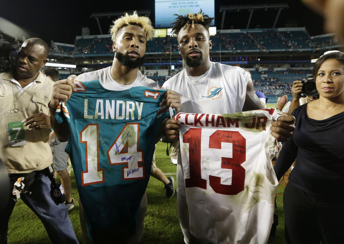 pretty nice 17fd4 decc0 Photos: Reunited! Odell Beckham Jr. to join former LSU ...