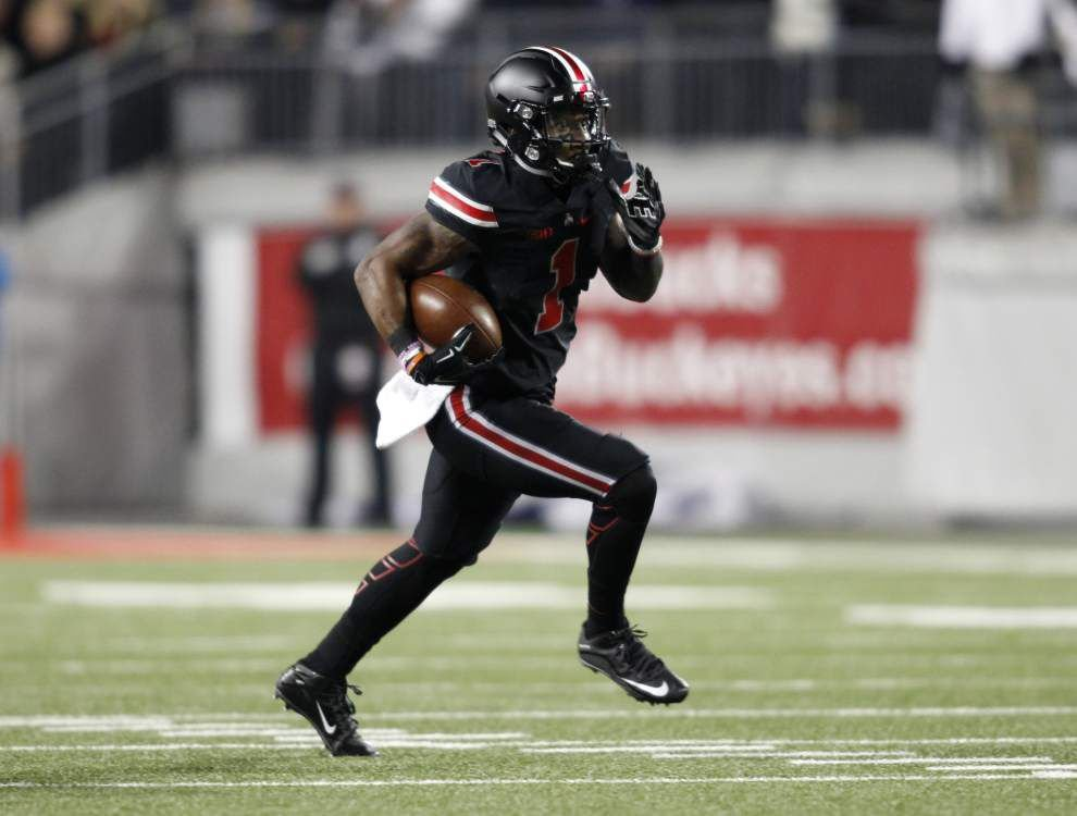 Draft spotlight: Braxton Miller out to prove he's an NFL-caliber receiver _lowres