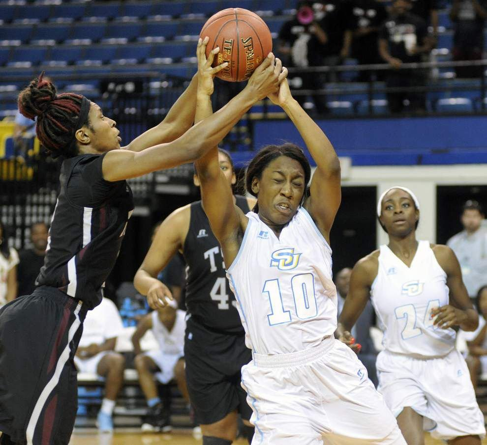 Southern women beat Texas Southern to move into first-place tie in the SWAC _lowres