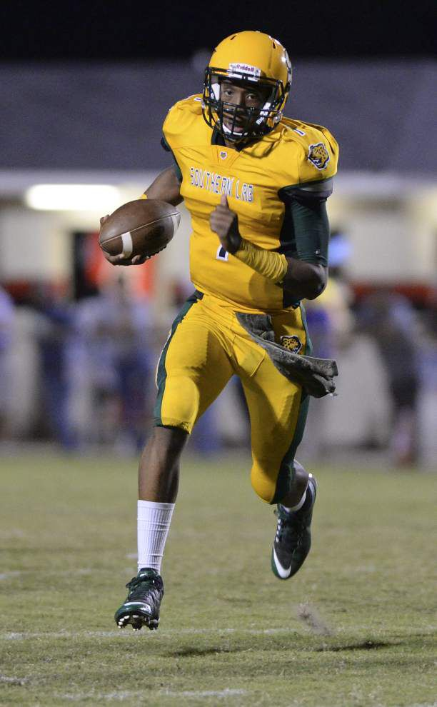 Curtlan Williams' three punt returns for touchdowns carry Southern Lab over Ascension Catholic _lowres