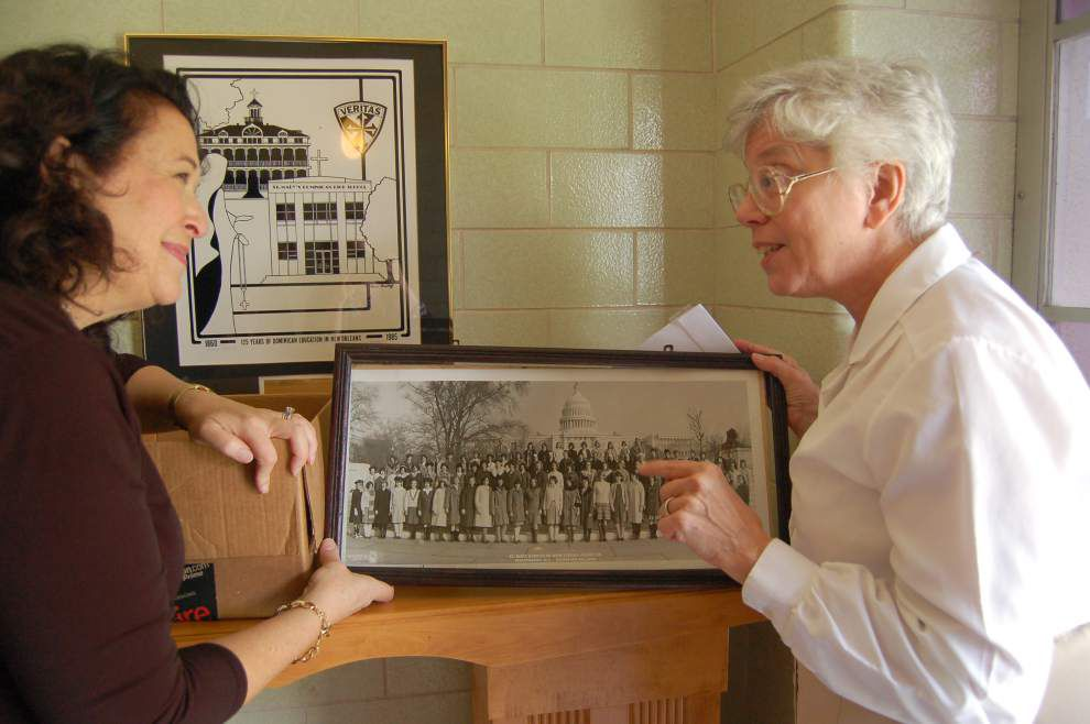 Alumna shares treasures from two generations of Dominican student life _lowres