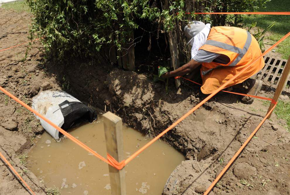 Lafayette to cut back on funding for parish drainage, road projects _lowres