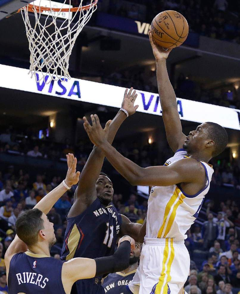 Warriors win 11th straight with 112-85 victory over Pelicans _lowres