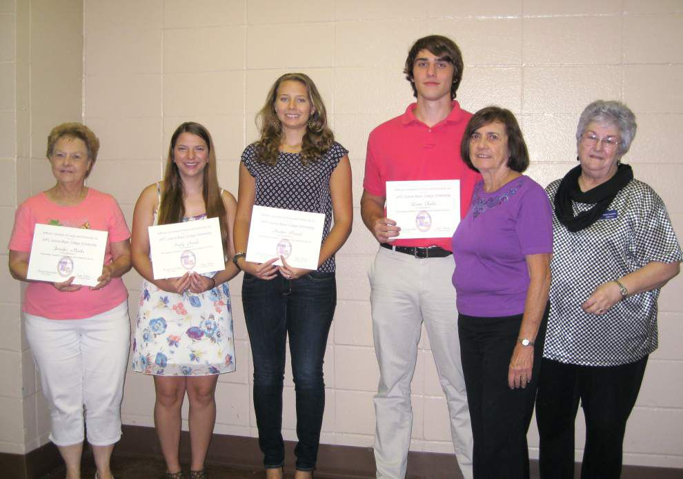 Jefferson Volunteers for Family and Community awards scholarships _lowres