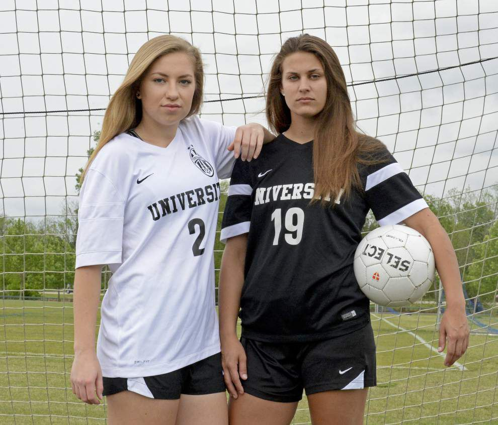 Blaire Laiche, Kennedy Achord, Jessica Shelby, Elizabeth Bankhead named Outstanding Players on Baton Rouge area All-Metro Girls Soccer teams _lowres