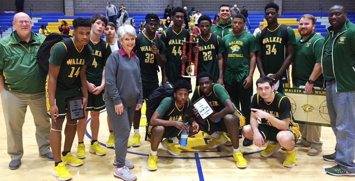 Walker Boys Basketball Trophy Picture