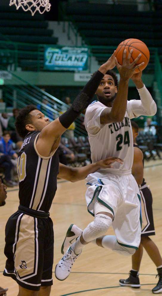 UCF rolls over Tulane 69-55 _lowres