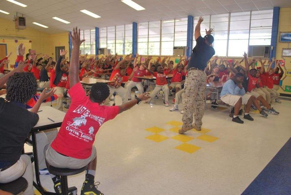 East Feliciana schools promote drug-free life _lowres