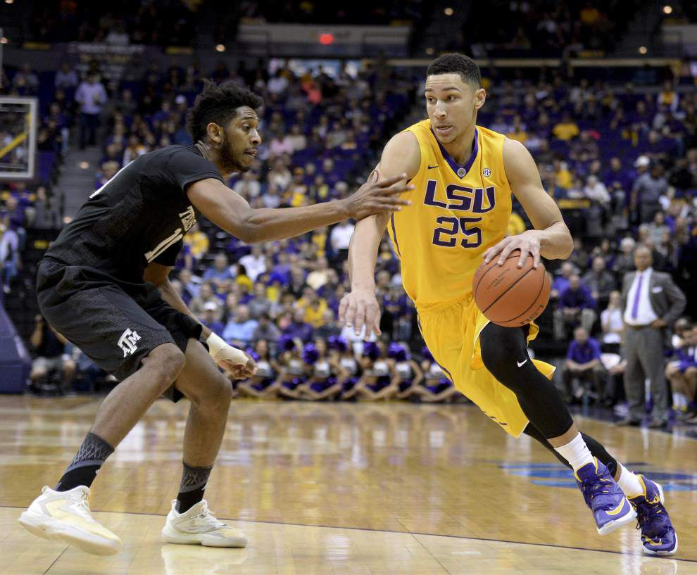 From LSU with a swoosh: Ben Simmons reportedly signs multimillion-dollar Nike shoe deal _lowres