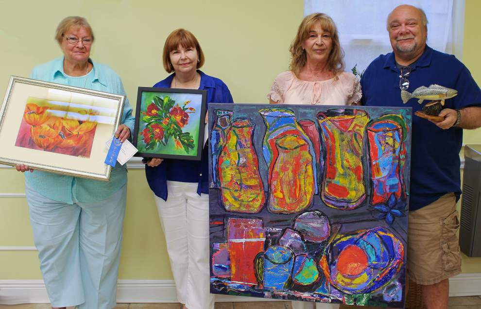 Slidell Art League chooses artists of the month _lowres
