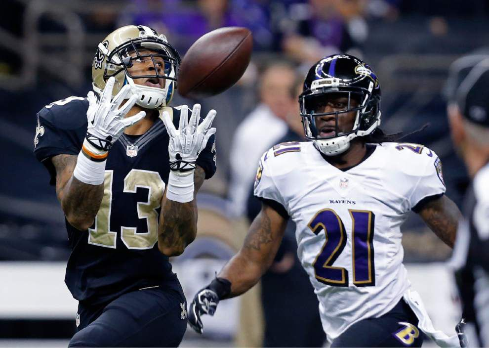 Talented receiver Joe Morgan needs to put it together in what might be final chance with Saints _lowres