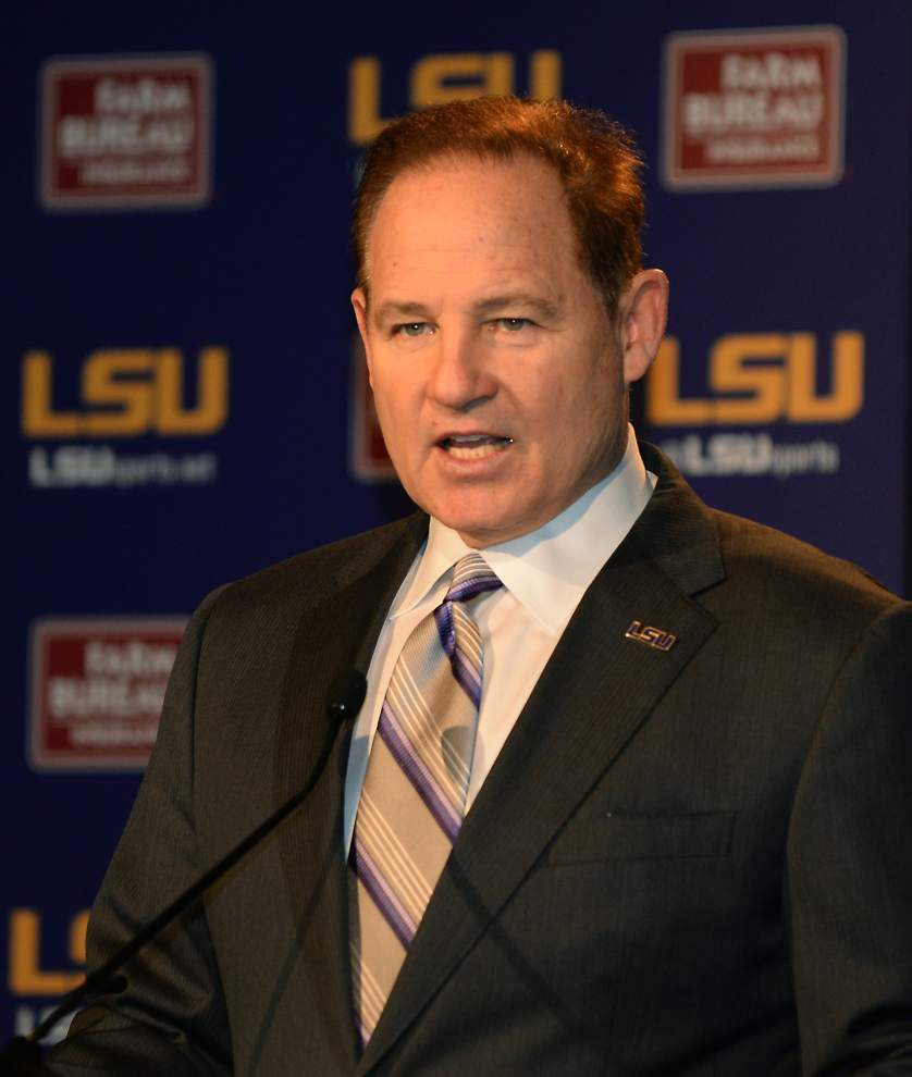 Dave Aranda, the 'absolute star' of last year's coaching search, introduced as LSU's new defensive coordinator _lowres