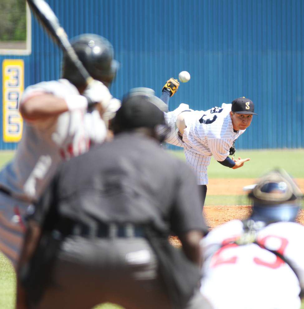Southern baseball team sweeps pair from Grambling _lowres