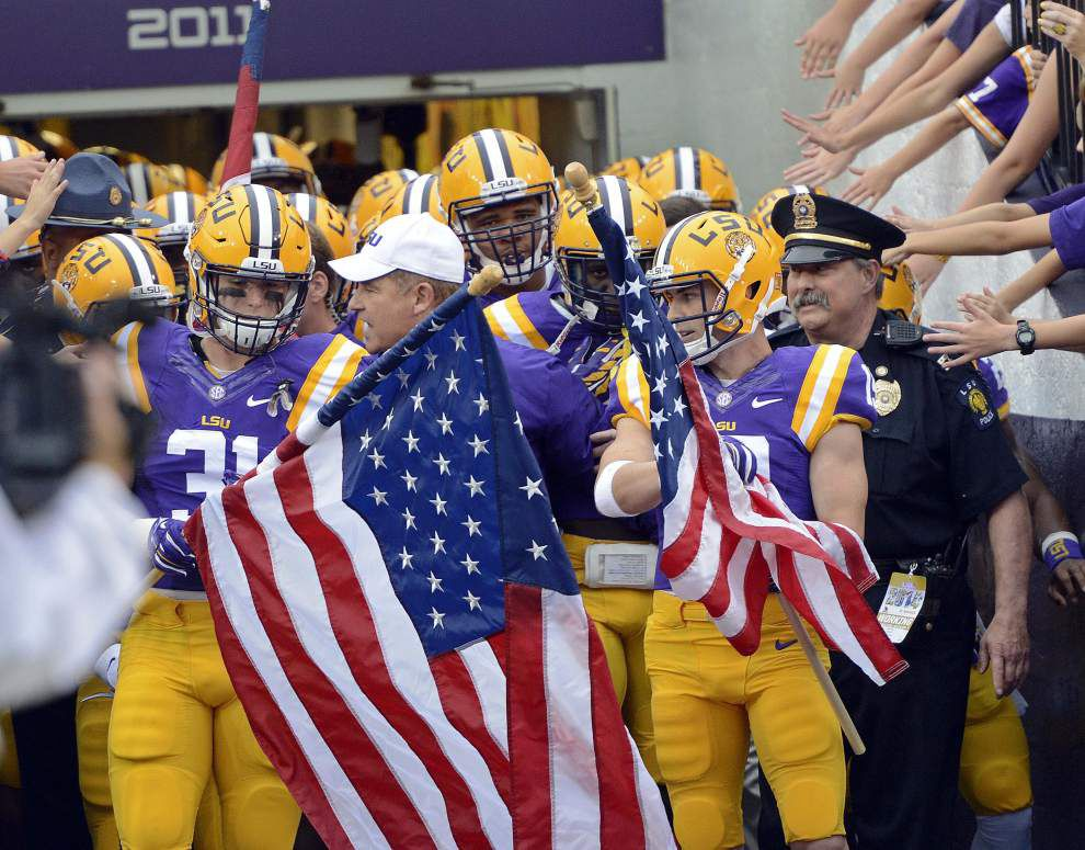 LSU Times of Interest for Satuday's game against Mississippi State at Tiger Stadium _lowres