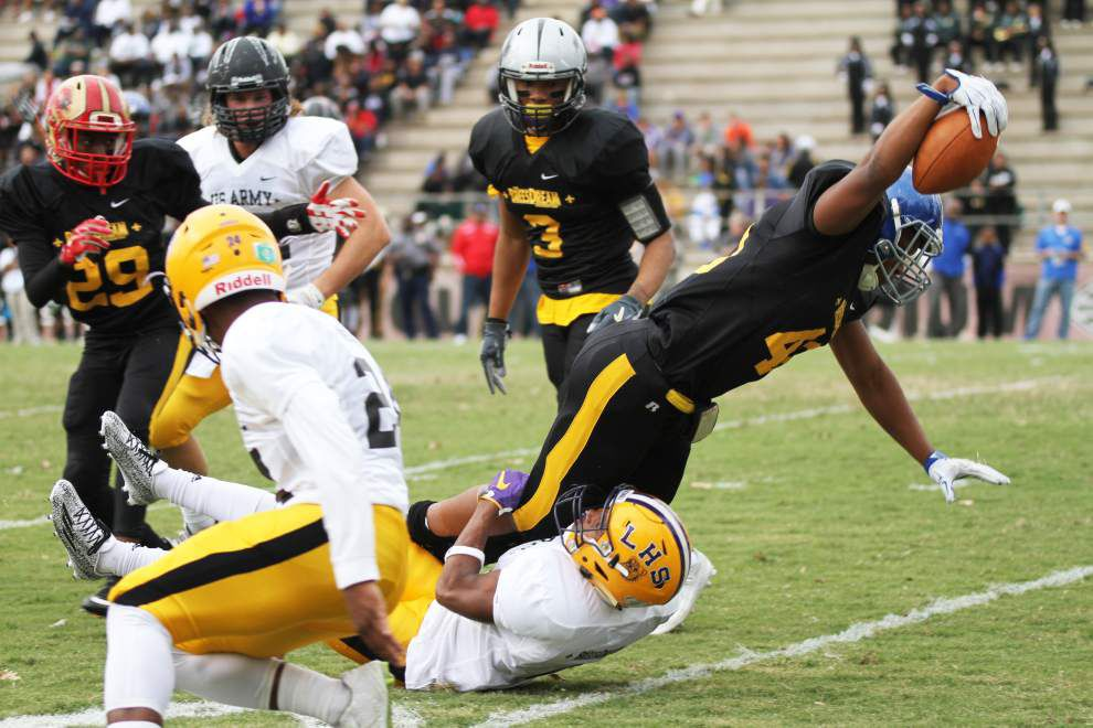 Scotlandville's Chris Johnson sparks Rattlers over Black Knights in Red Stick Bowl _lowres