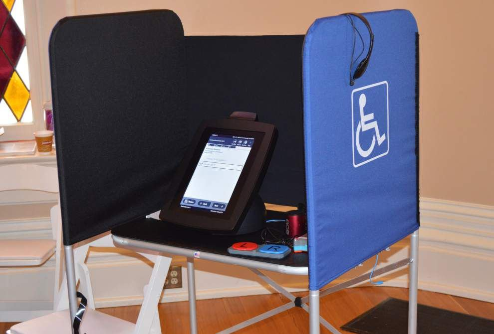 'Drastic change' coming as Louisiana shifting to iPad voting, and it won't be cheap _lowres