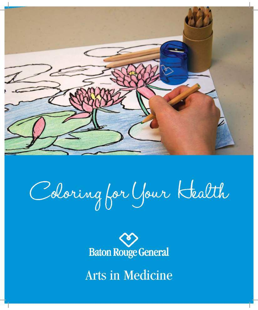 'It helps you drift away': Hospital helps ease patient stress with coloring books _lowres