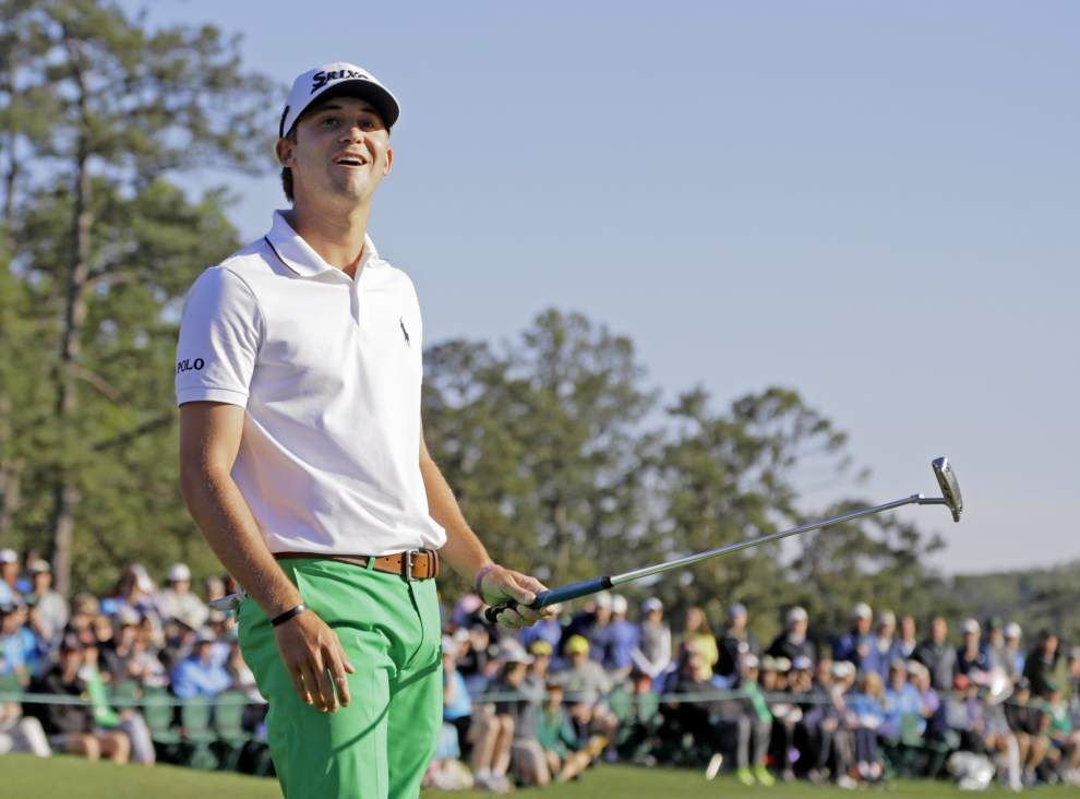 Former LSU golfer Smylie Kaufman shoots 3-under 69 to move into second place after 54 holes at the Masters _lowres