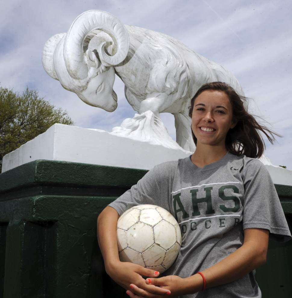 The Acadiana Advocate's All-Metro Girls Soccer team _lowres