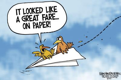 With over 600 entries, Check out the WINNER and finalists in Walt Handelsman's latest Cartoon Caption Contest!!