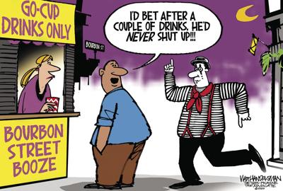 With over 500 entries, you'll be speechless when you read all the hilarious punchlines in Walt Handelsman's latest Cartoon Caption Contest!!