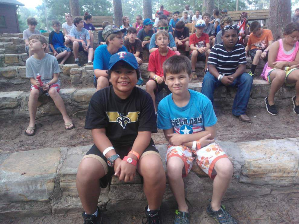 Area 4-H members attend camp _lowres