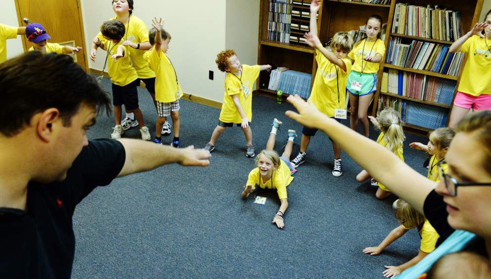 Photos: Youth Symphony Camp lets kids participate in acting workshops, learn basics of musical instruments _lowres
