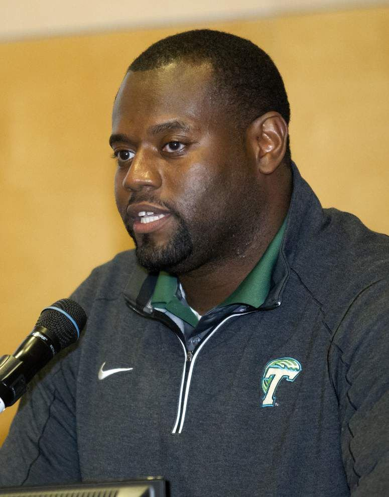 New coach Alex Atkins looks to breathe life into Tulane's offensive line _lowres