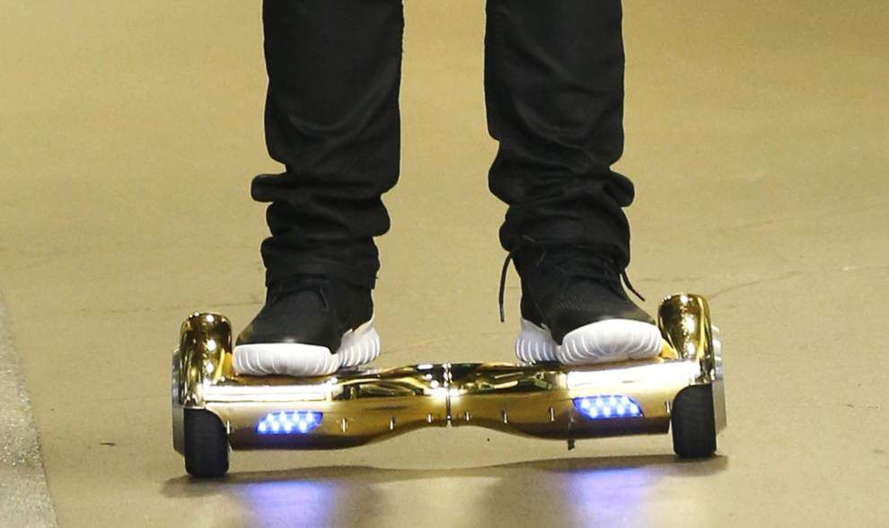 Why you might see LSU students riding 'hoverboards' around campus _lowres