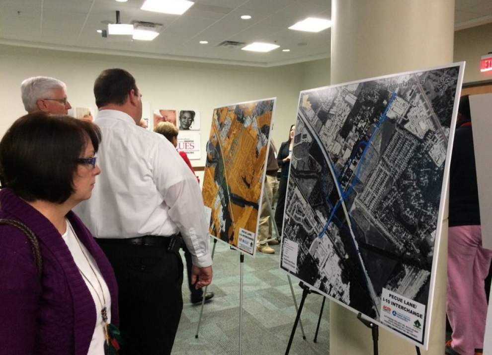 DOTD show Pecue Lane expansion plan at meeting Thursday; construction could start by spring 2017 _lowres