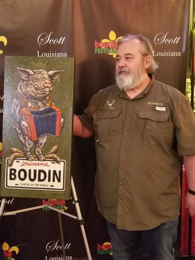 Scott Boudin Poster