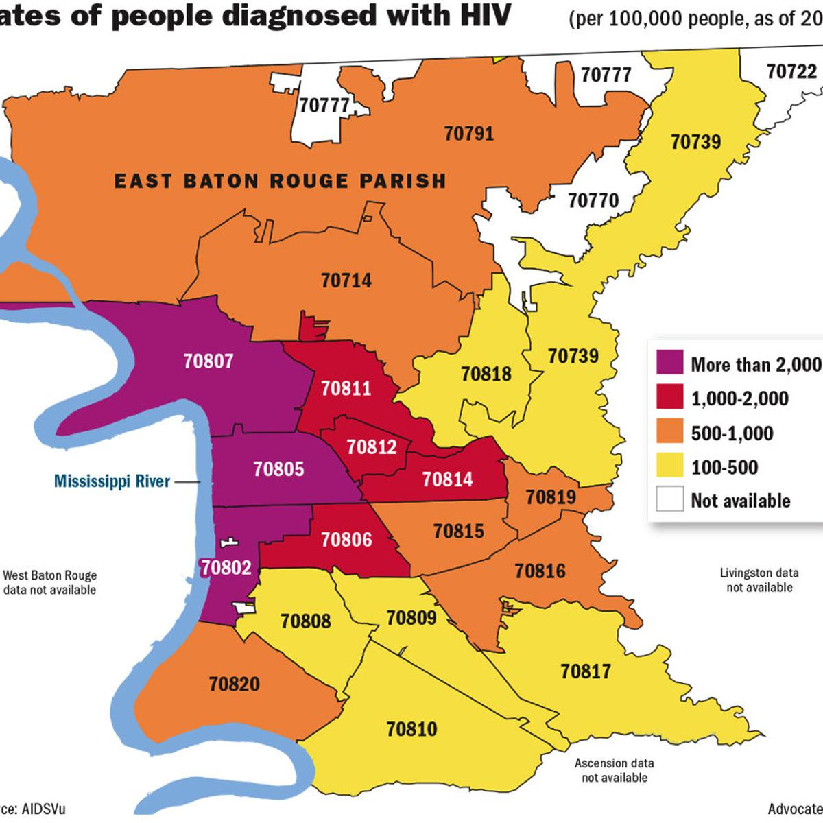 new orleans zip codes map Here S How Baton Rouge New Orleans Could Benefit From Drug new orleans zip codes map