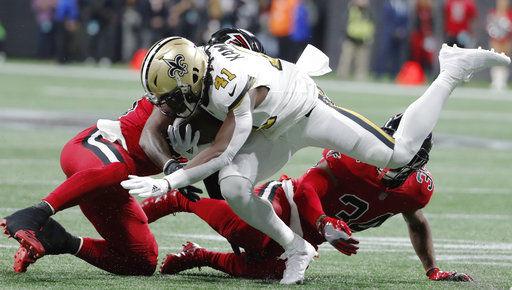 Saints Falcons Football