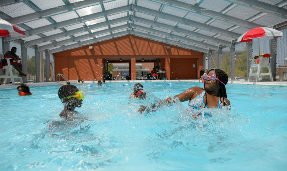 New city-owned recreation center, pool open on St. Claude Avenue _lowres