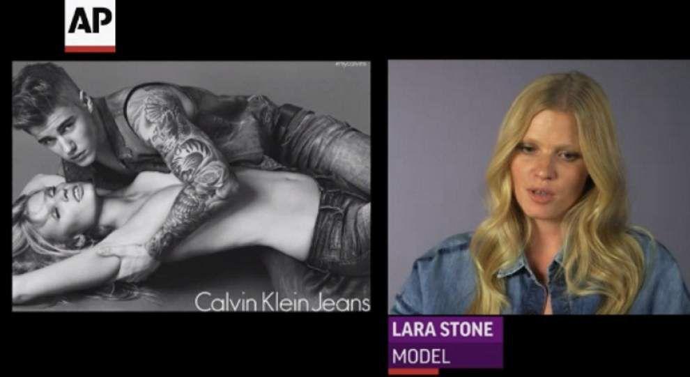 Justin Bieber strips off for Calvin Klein _lowres