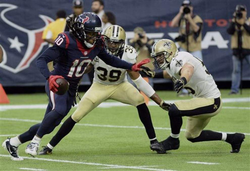 Saints snap counts: Ramon Humber takes over at linebacker, defensive line gets lots of work _lowres