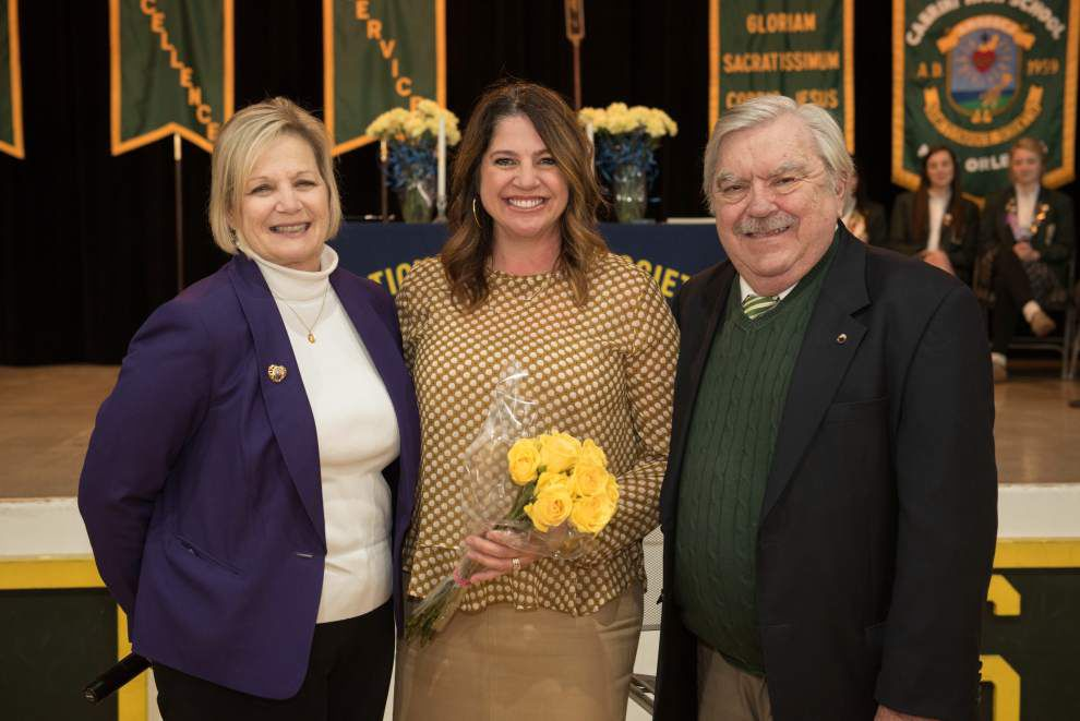 Cabrini chooses Hynes principal as its alumna of the year _lowres