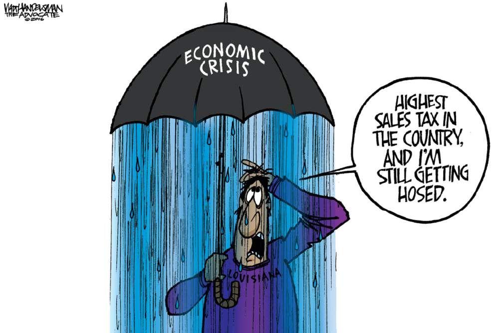 Walt Handelsman: Let It Rain caption contest winner _lowres
